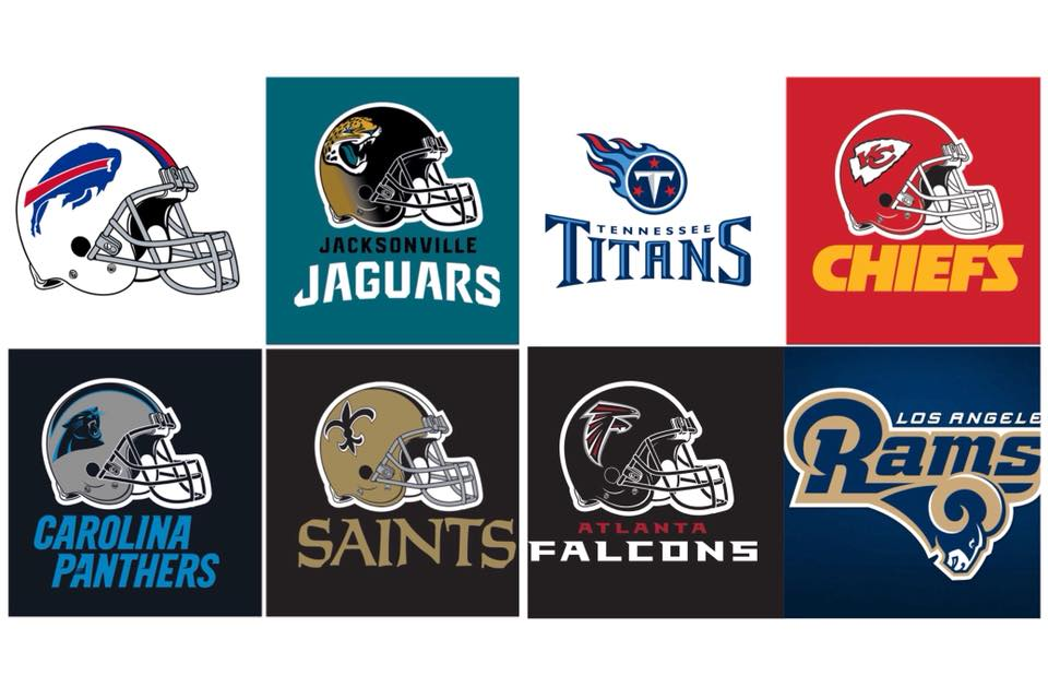Road to the Super Bowl Giveaway! Pick your Winners and we Will Pick Ours! Round 1