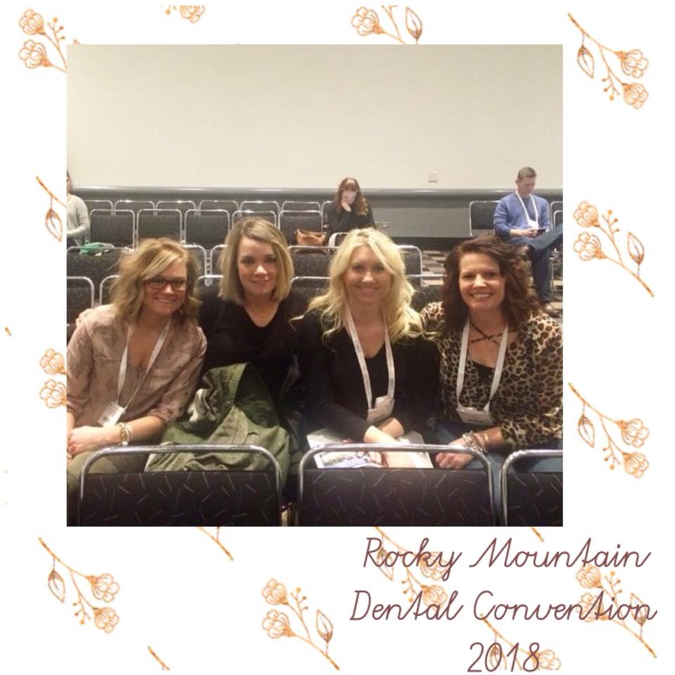 Our Hygienists Show Dedication to Learning at the Rocky Moutain Dental Convention!