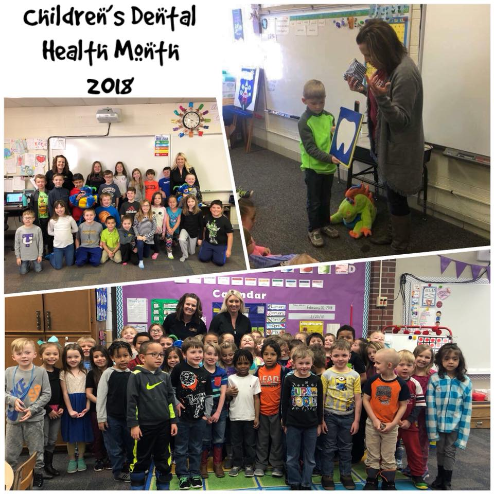 Nothing Beats Being Invited to Classrooms to Encourage good Dental Health!