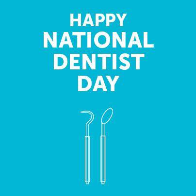 Take Some Time to Thank a Dentist on National Dentist Day!