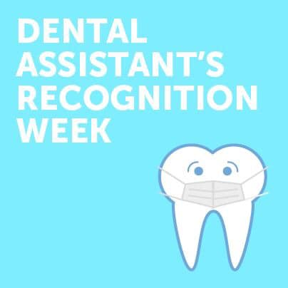 Happy Dental Assistant's Recognition Week ladies!