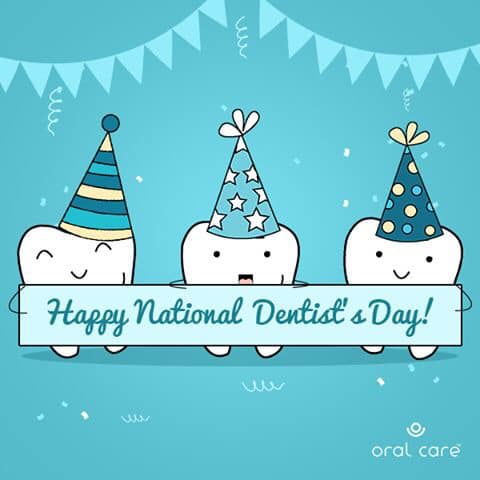 Happy National Dentist's Day!