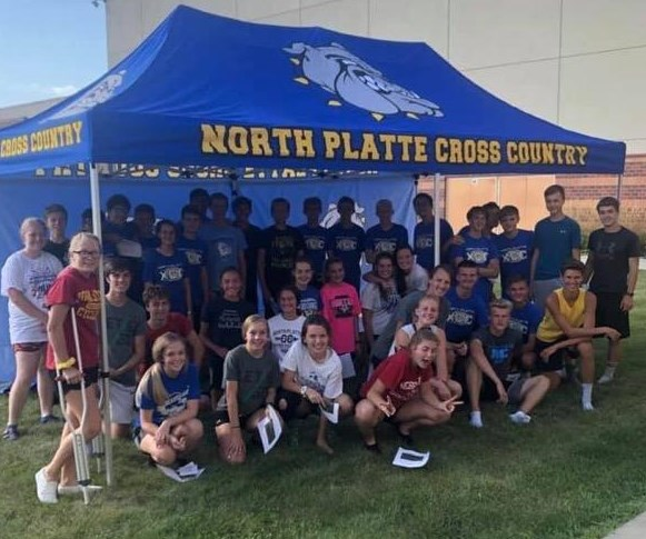 Supporting our Local North Platte High School Cross Country Team!