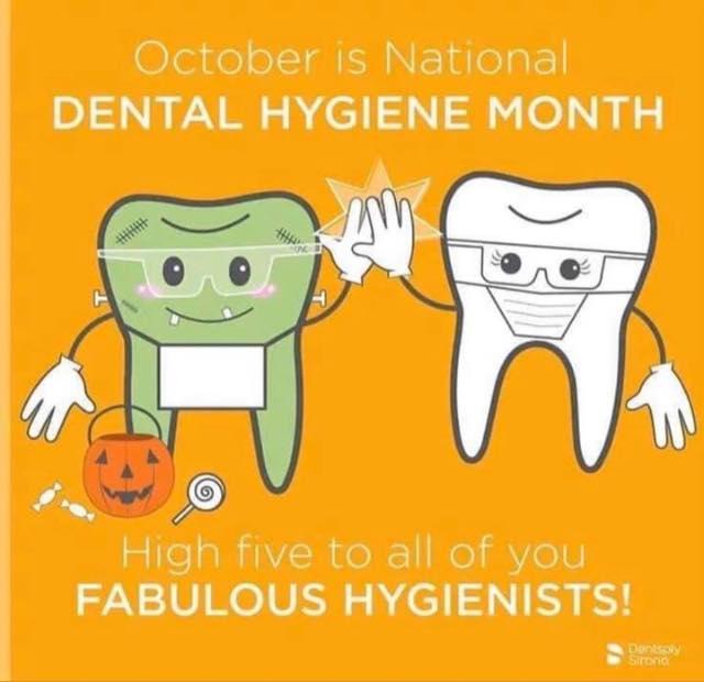 Maple Park Dental National Dental Hygiene Month!
