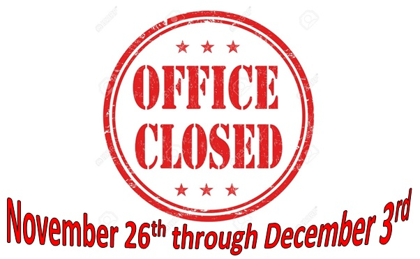 Office Closed for Reservations