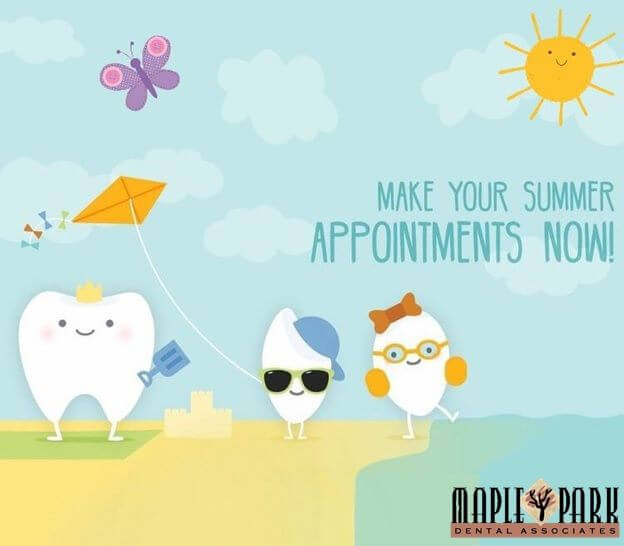 Schedule Summer Appointments!