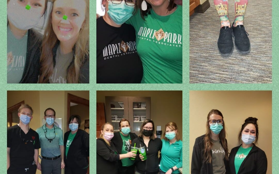 Happy St. Patrick's Day from Maple Park Dental!