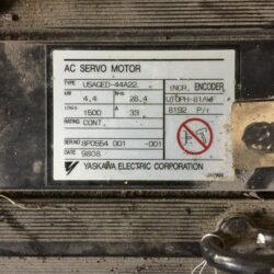Yaskawa Electric AC Servomotor USAGED-44A22