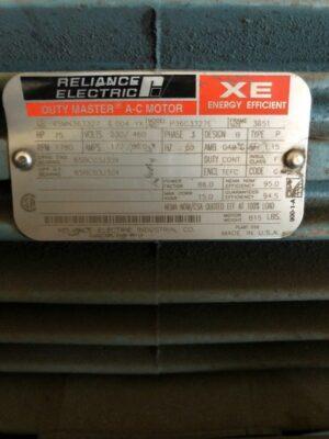 Baldor Reliance Electric AC Motor P36G3327E