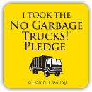 The No Garbage Trucks Pledge