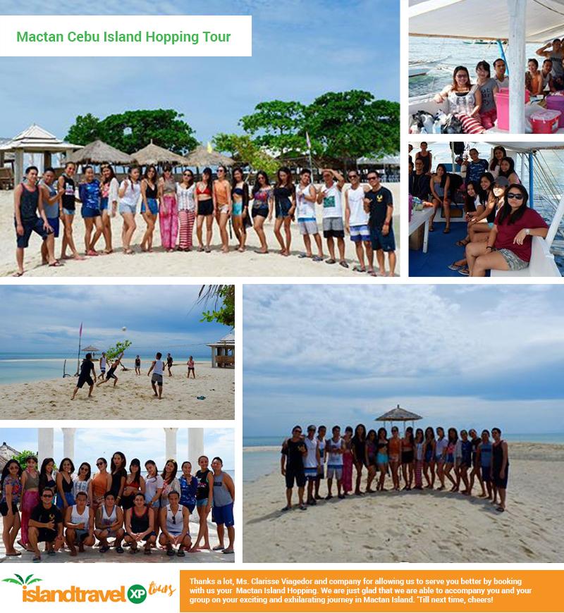 Cebu Mactan Island Hopping - Clarisse Viagedor