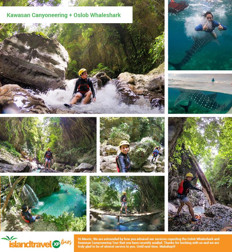 Kawasan Canyoneering + Oslob Whaleshark - Mavric Torrelio