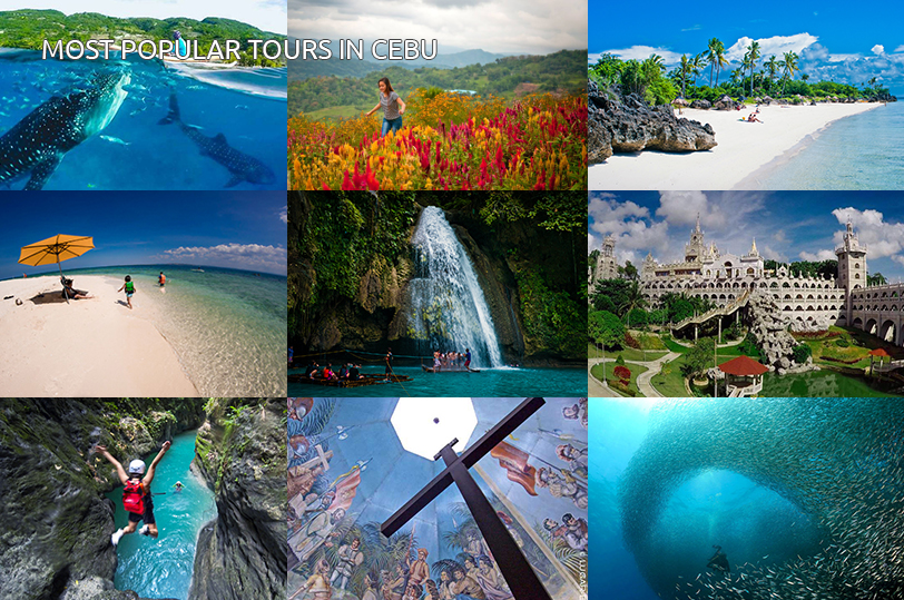MOST POPULAR TOURS IN CEBU