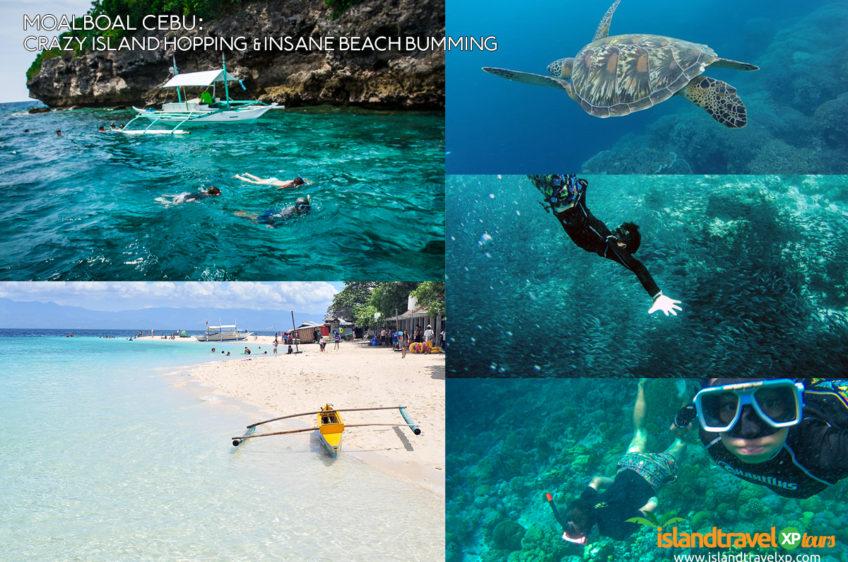 Moalboal Cebu: Crazy Island Hopping and Insane Beach Bumming
