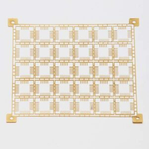 advantage of small details on a Fotofab leadframe brass component with intricate details