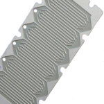 Titanium Etched Fuel Cell Plate