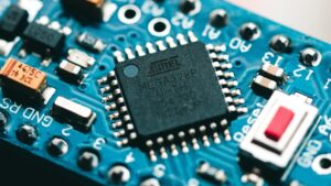 Close up of Semiconductor