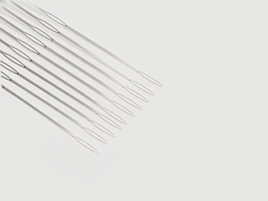 Medical surgical snares etched from exotic metals