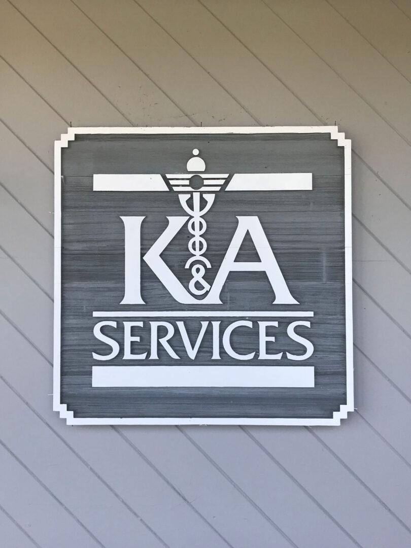 K&A-sign