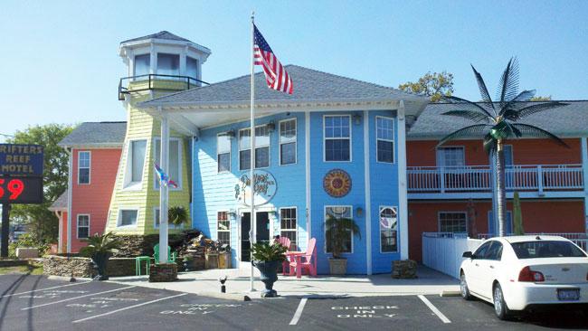 Drifters Reef Motel Carolina Beach NC