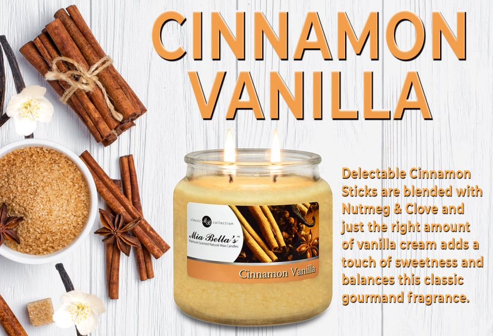 Mia Bella Cinnamon Vanilla