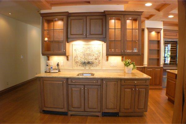 Custom Luxury Kitchen Buffet