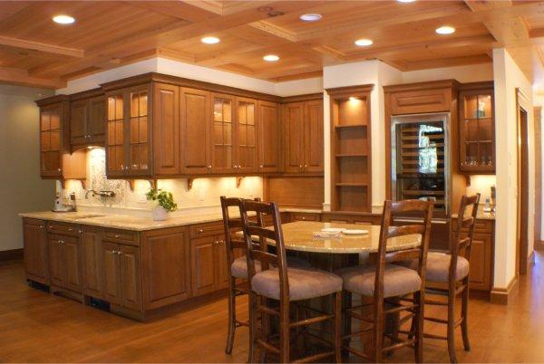 Luxury Kitchen Detail Cabinets