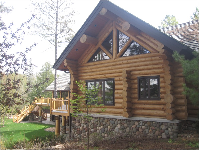Luxury Log Home Timber Home Builder Duluth MN