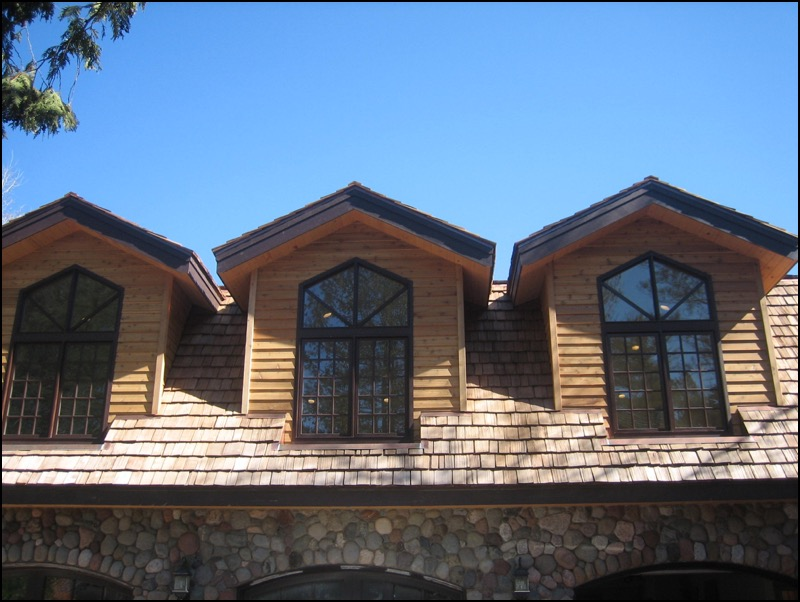 Luxury Log Home Upper Windows Home Builder Anderson Hammack