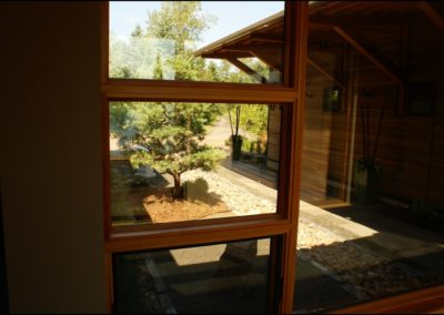 Nordic Zen Garden Anderson Hammack Construction