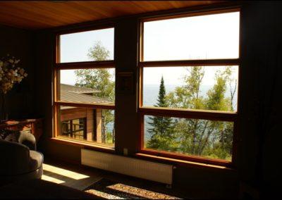 Nordic Zen Lake View Anderson Hammack Luxury Duluth MN