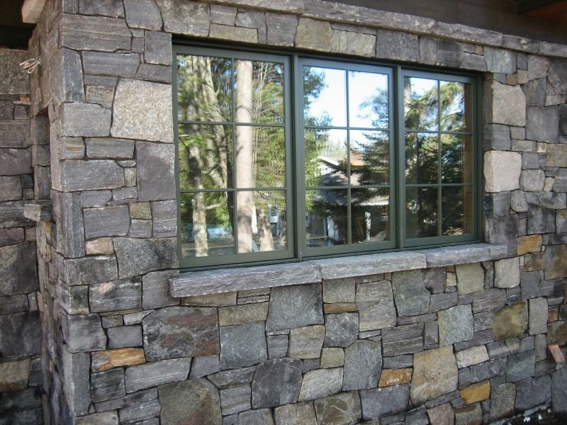 Rustic Craftsman Brick Window Anderson Hammack Luxury Builders Duluth MN