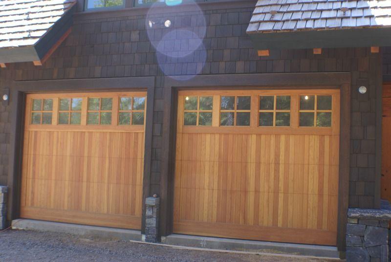 Rustic Craftsman Garage Anderson Hammack Luxury Builder