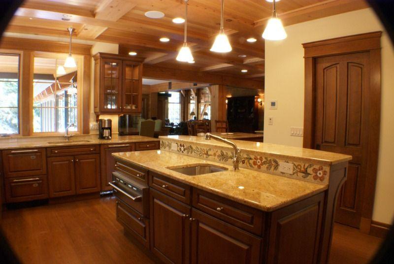 Rustic Craftsman Kitchen Construction Duluth MN Superior WI