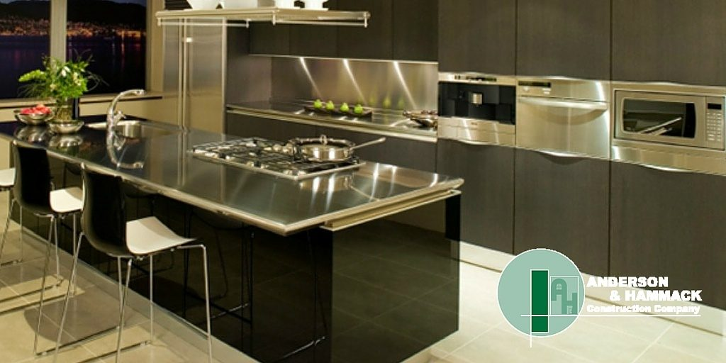 Stainless Steel Countertops Anderson Hammack