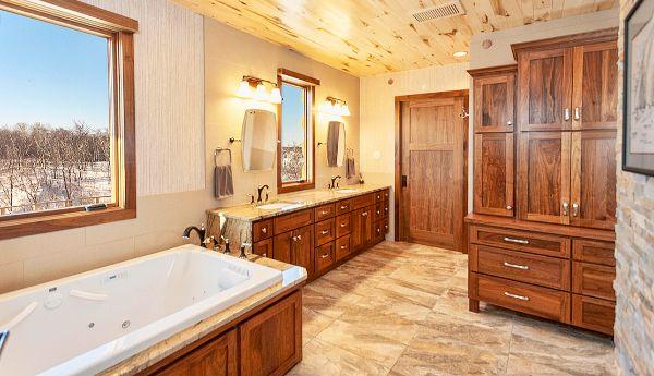 Classic Craftsmen Master Bathroom