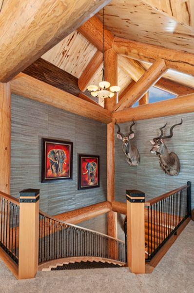 Custom Log Cabin Timber Frame