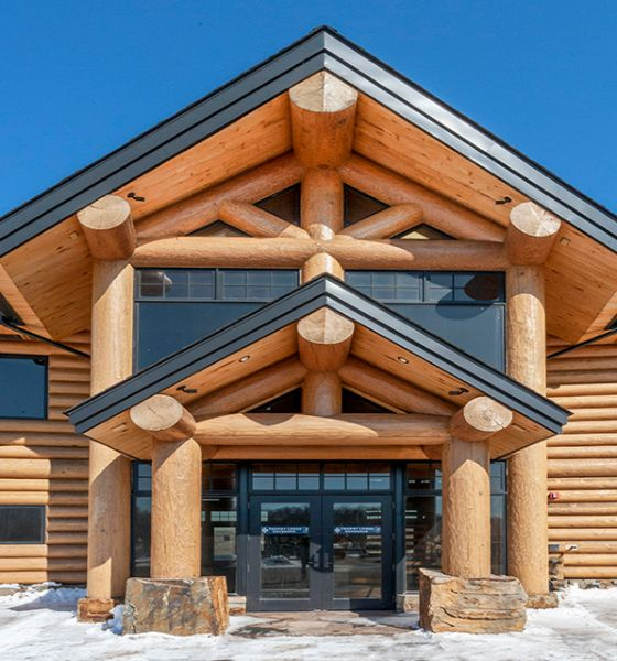 Timber Frame Log Cabin Duluth MN