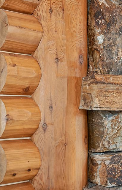 Custom Log Cabin Fit And Finish