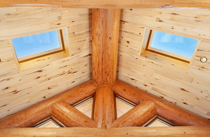 Log Cabin Skylights