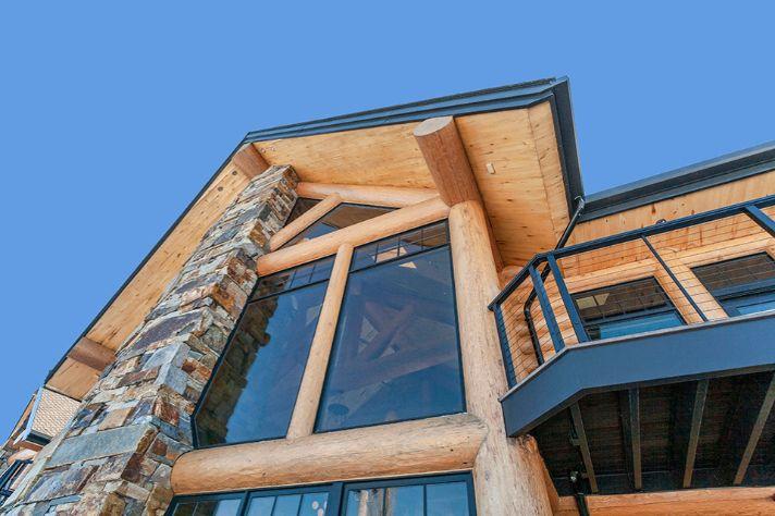 Log Cabin Lodge Build