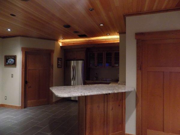Basement Addition Kitchen