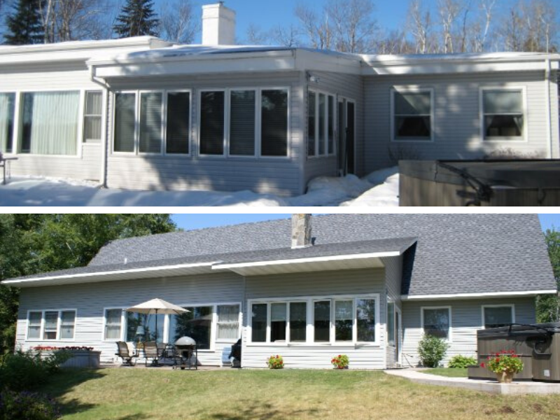 Before And After Renovation Exterior