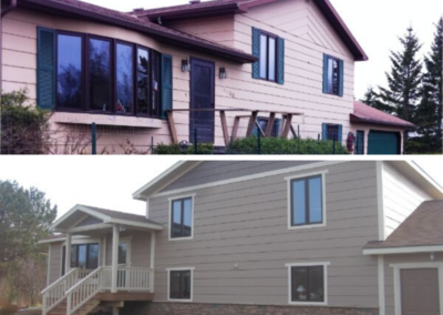 Before And Aftoer Front Exterior