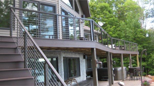 Big Deck With Underneath Patio Space