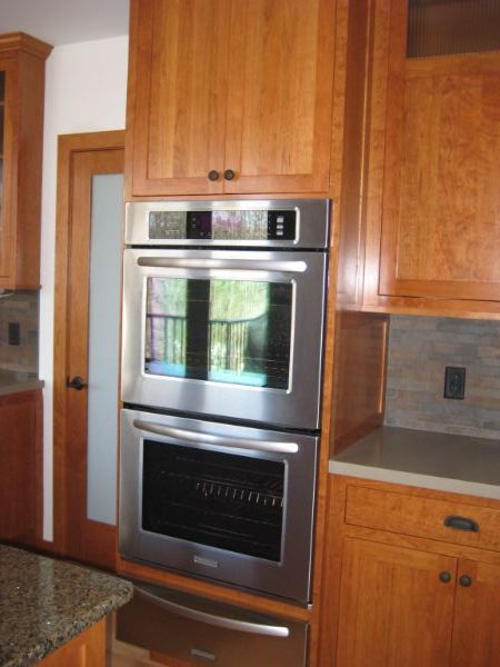 Built In Applicances Custom Cabinets Kitchen
