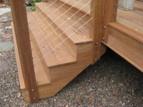 Composite Deck Stairs Railing