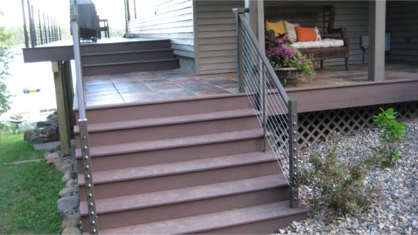 Composite Decking Stairs No Maintenance