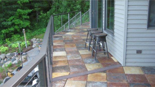 Concrete Tiles For Deck Multi Colors