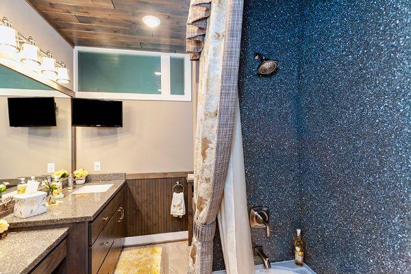 Custom Modern Shower Upgrade